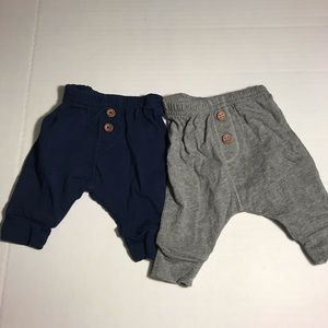Lot of 2 simple joys by carters pants size newborn